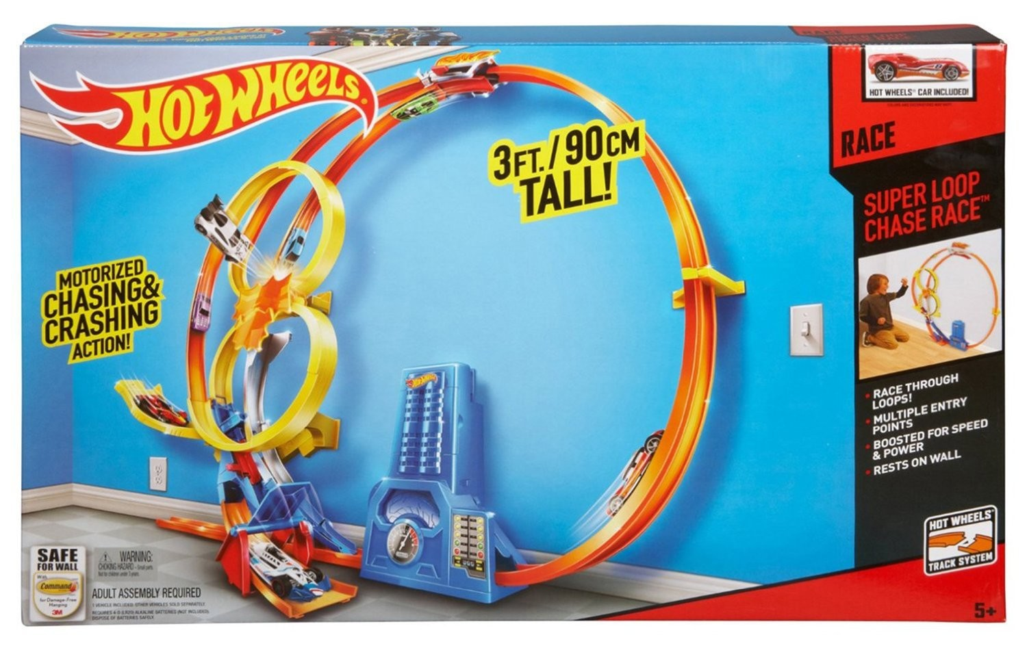 pista megalooping hot wheels brico reyes. Black Bedroom Furniture Sets. Home Design Ideas
