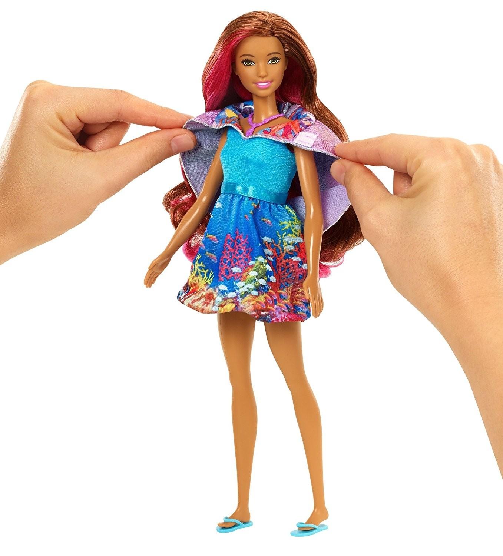Barbie Sirena Mágica Con Accesorios Mattel Fbd64 Brico Reyes