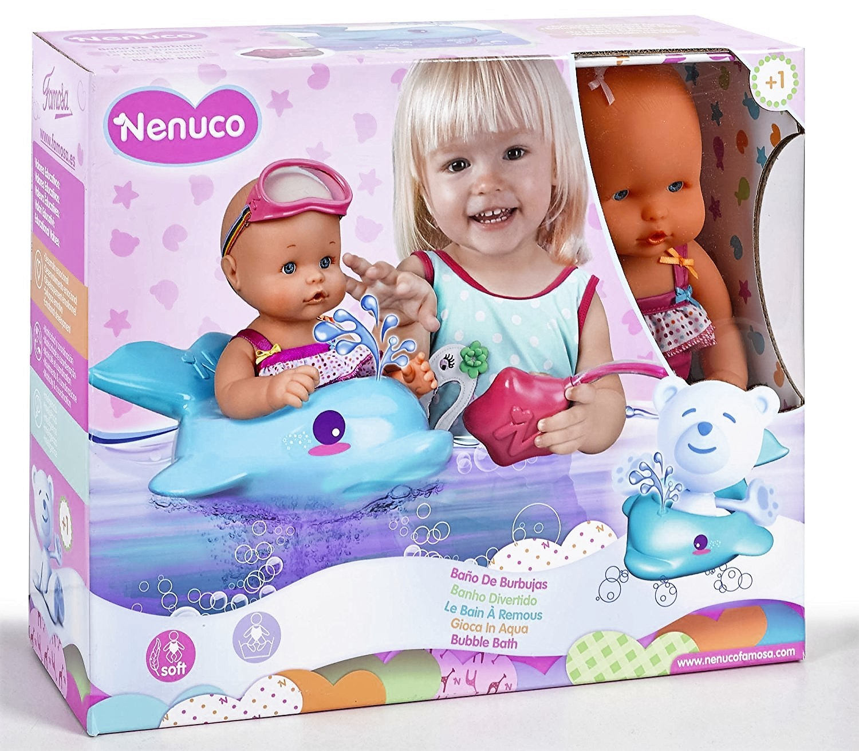 Nenuco ba o de burbujas con flotador delf n brico reyes - Nenuco bano de burbujas ...