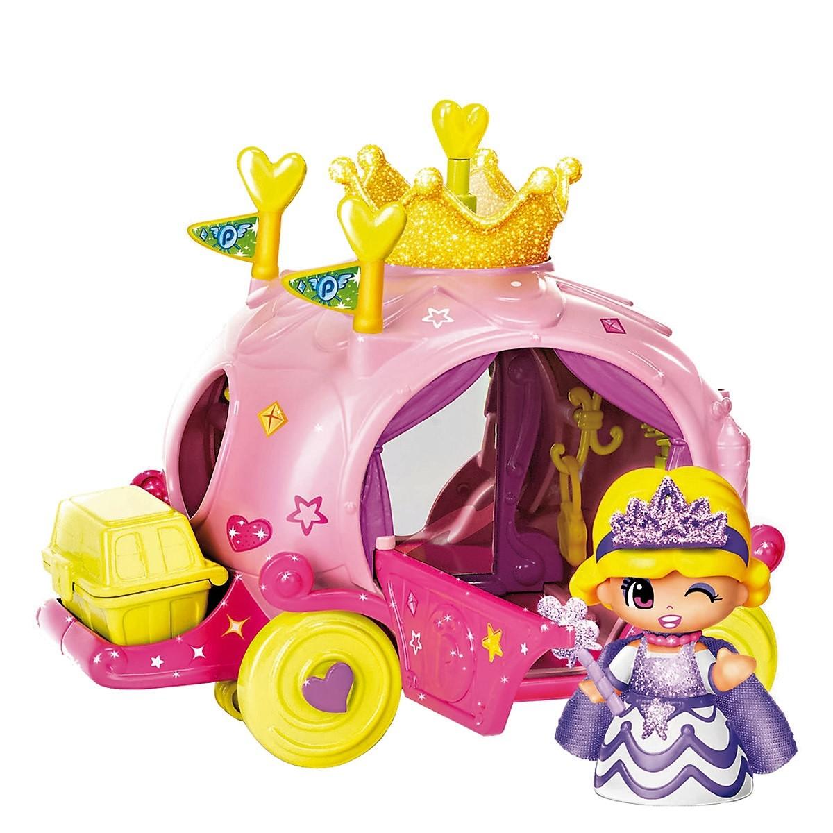Pinypon carroza de princesa con figura brico reyes - Carroza cenicienta juguete ...