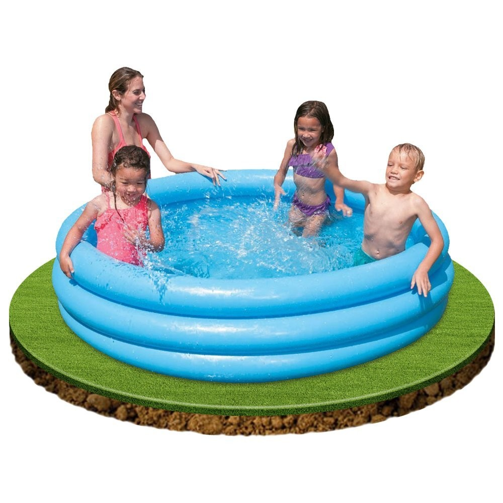 Piscina hinchable infantil forma circular 168 x 38 cm for Alberca intex