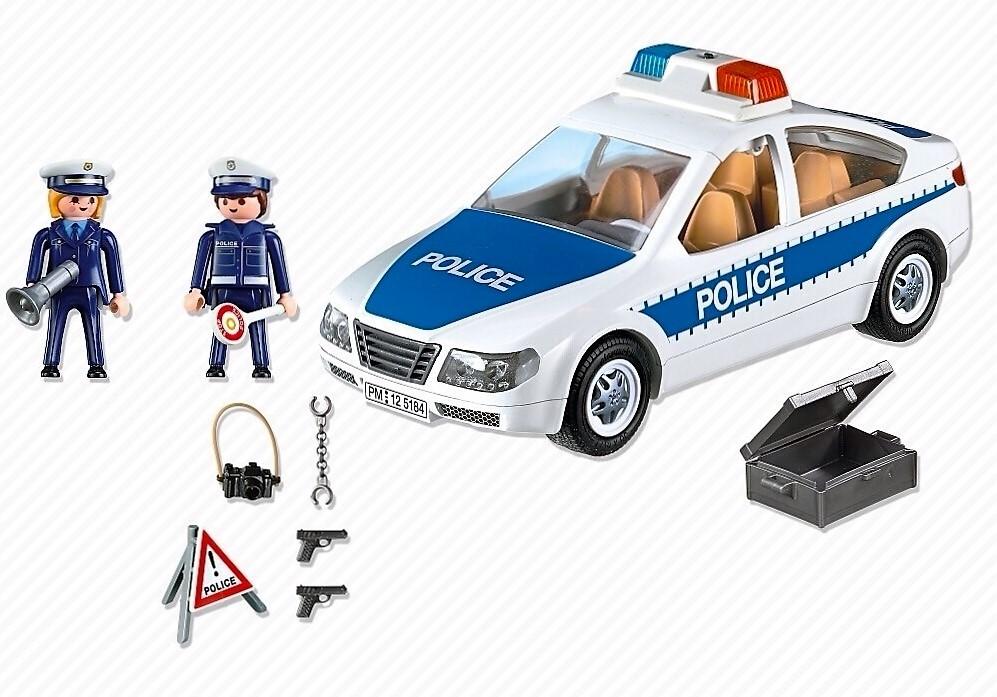 Desmontable Coche Y Accesorios LucesTecho Policía Con De POuwikZXT
