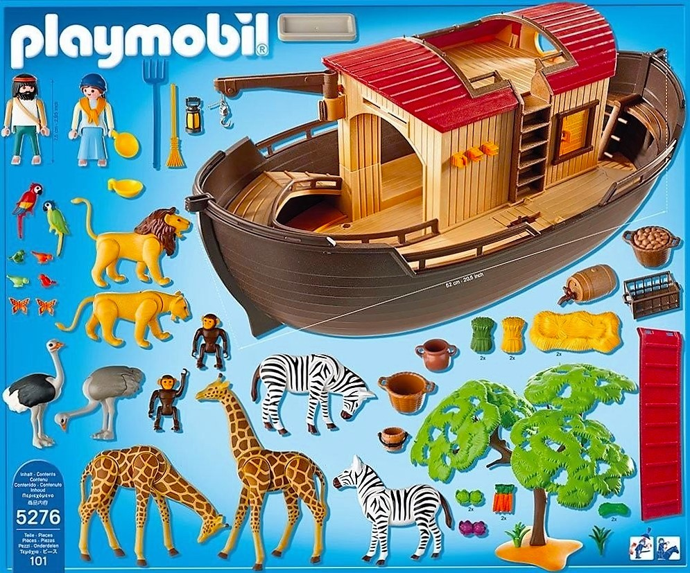 Playmobil 5276 arca de no y animales brico reyes for Arca de noe playmobil