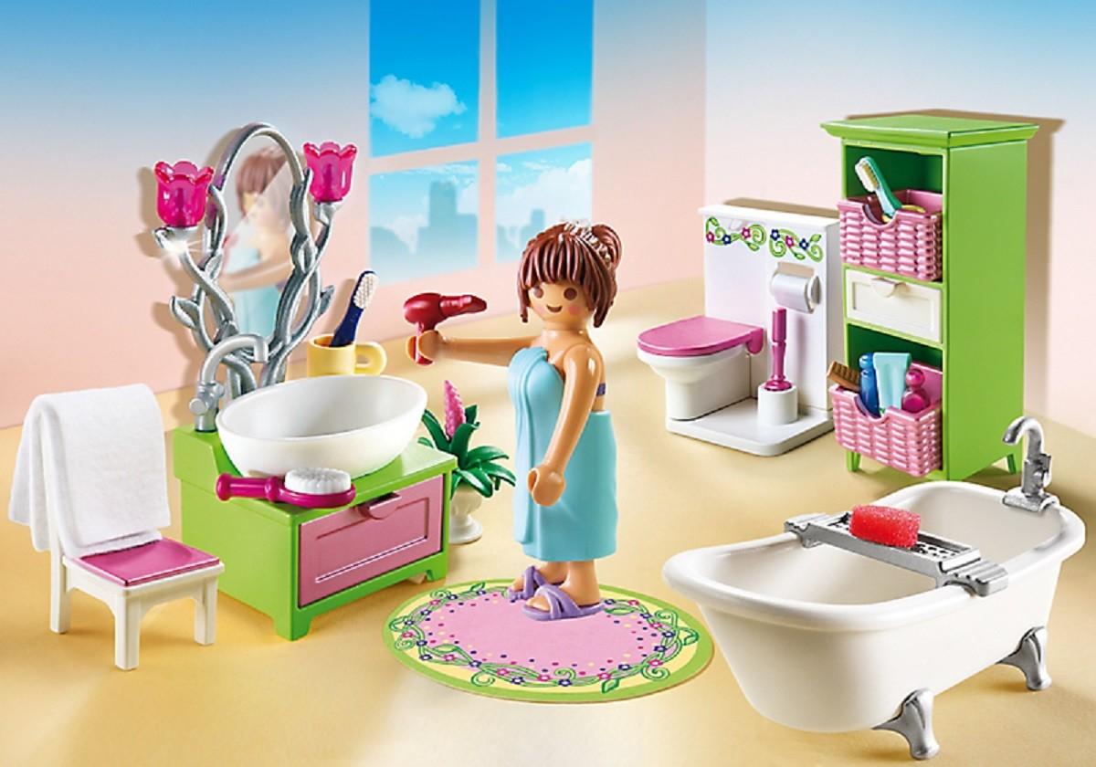 Playmobil 5307, cuarto de baño con figura y más - Brico Reyes