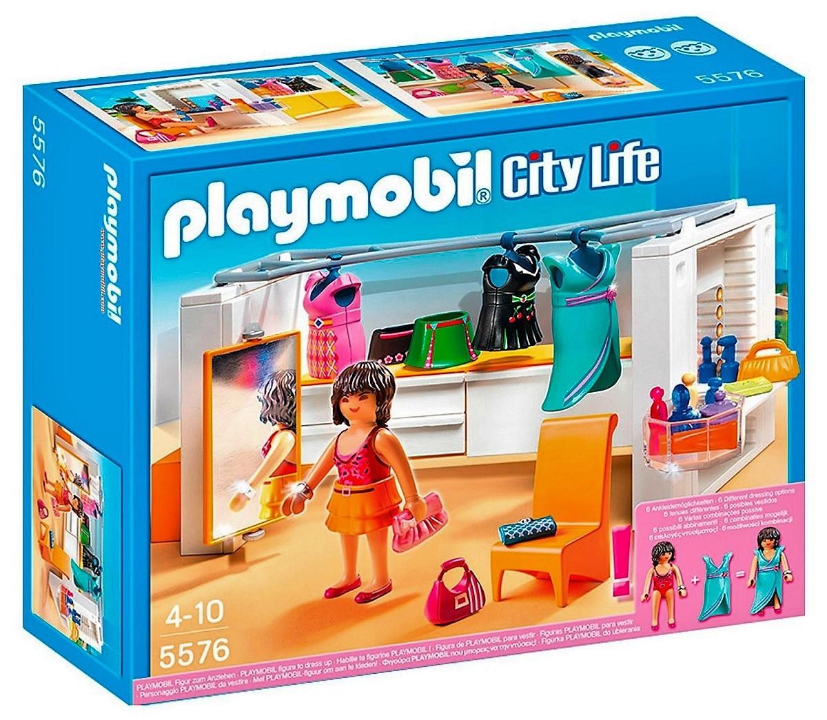 playmobil vestidor moderno con figura desvestible ropa accesorios y ms