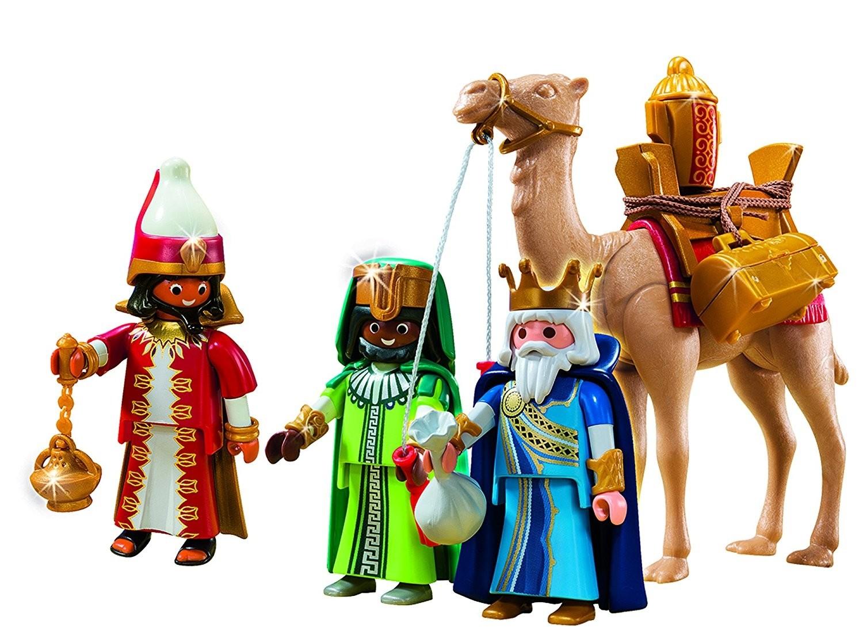 playmobil 5589 tres reyes magos con camello oro