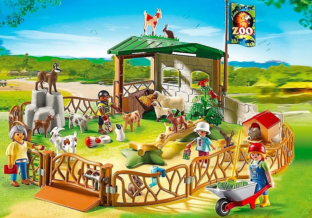 Playmobil 6635 zoo de animales de granja para ni os for La granja de playmobil precio