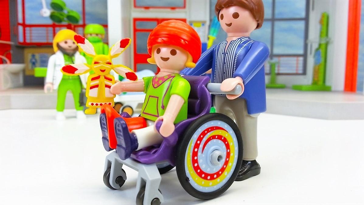 Playmobil 6663 ni o en silla de ruedas y m s brico reyes - Silla de ruedas ninos ...
