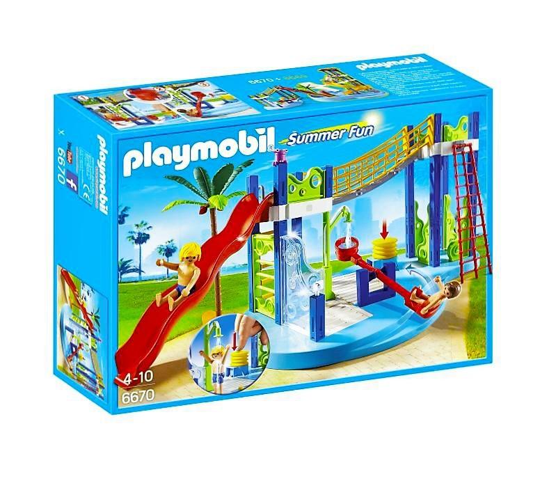 Playmobil 6670 Zona De Juegos Acuaticos Y Mas Brico Reyes