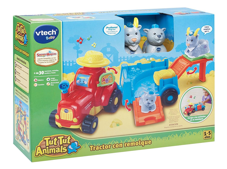Animales Tut Tractor Con Remolque 8vmn0Nw