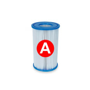 Cartucho de filtro tipo A, para depuradora de piscina. Intex 59900