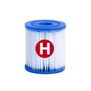 Cartucho de filtro tipo H, para depuradora de piscina. Intex 56014