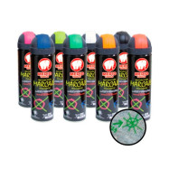 Spray para marcaje, Rojo, 500 ml, Medid 2815